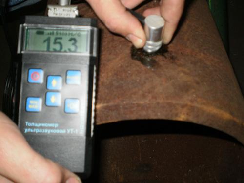 Применение ультразвукового толщиномера NOVOTEST УТ-1